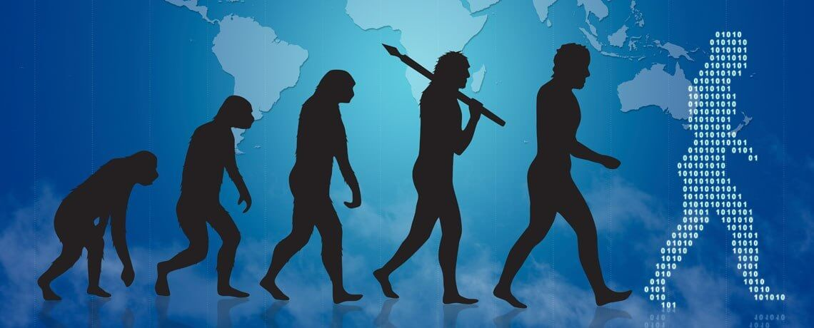 Digital Darwinism: The Future is Not Kind to Those Who Don't Evolve Digitally