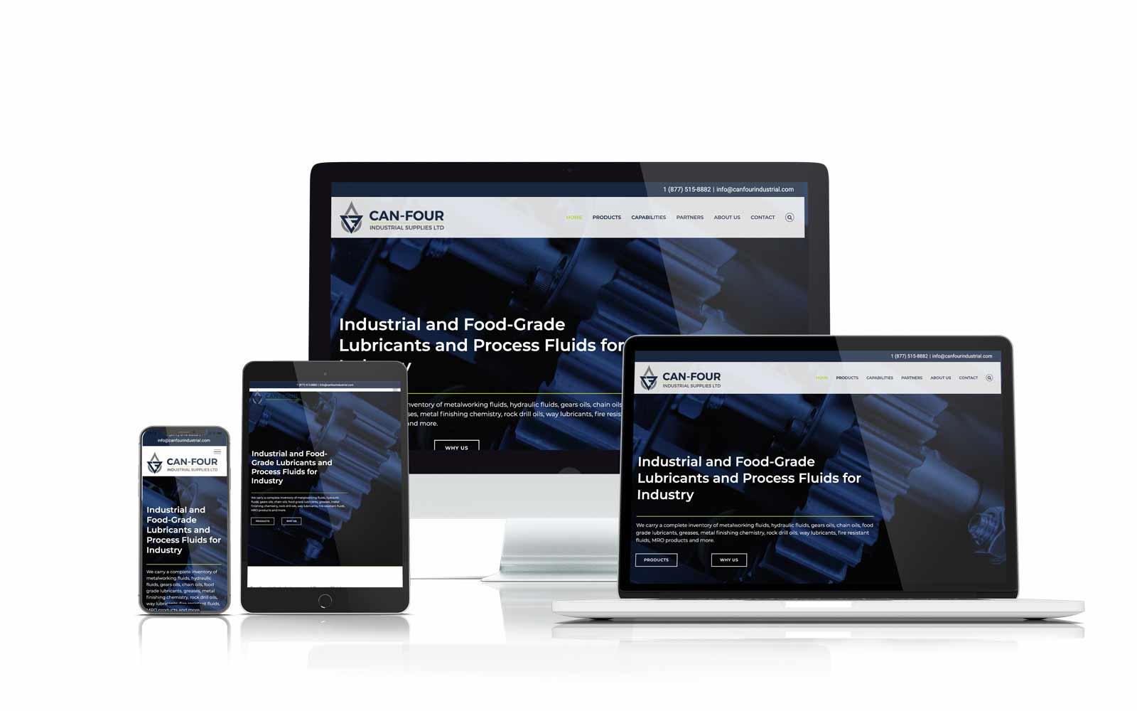Can Four Responsive Website Design