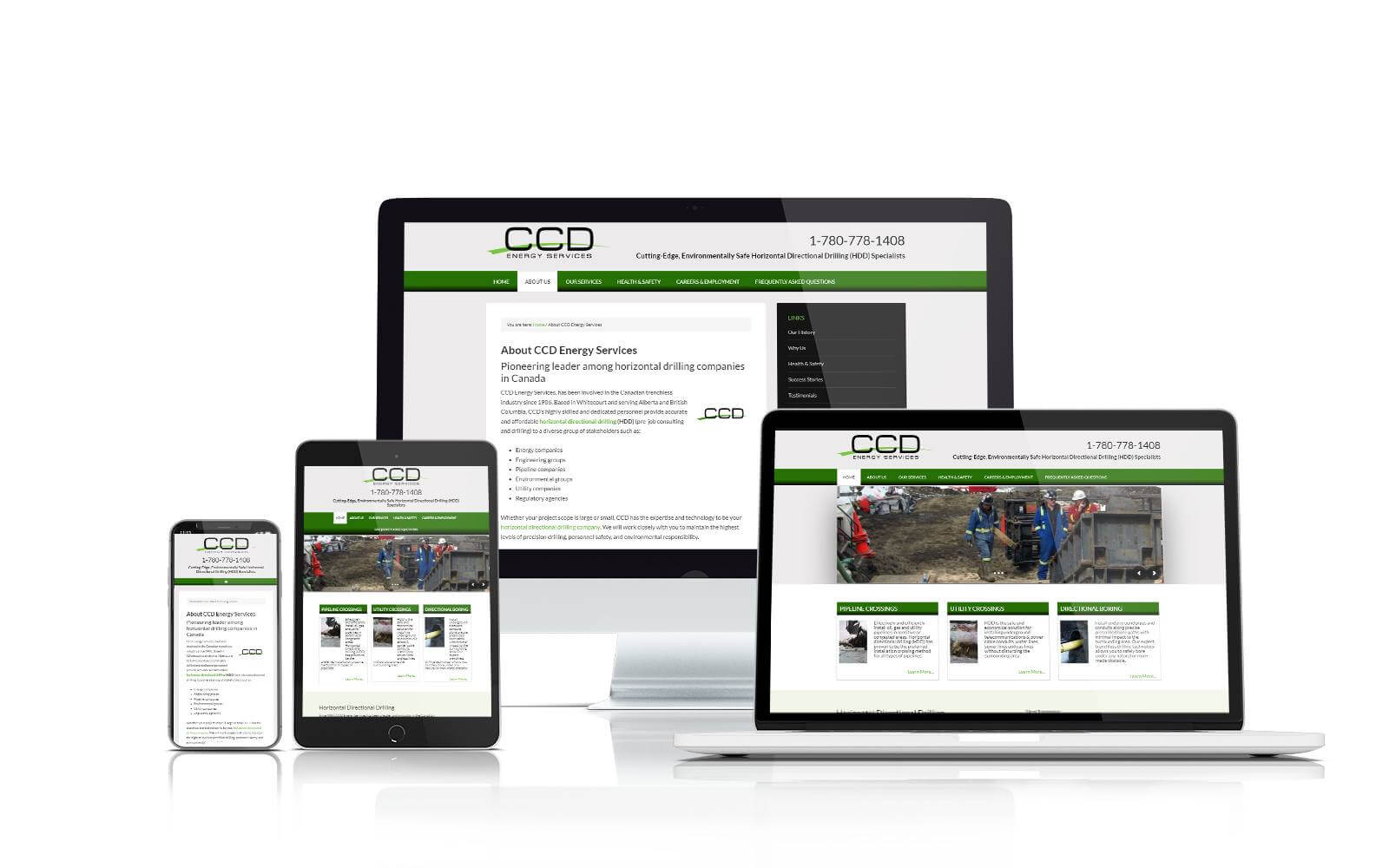 CCD Energy Services website