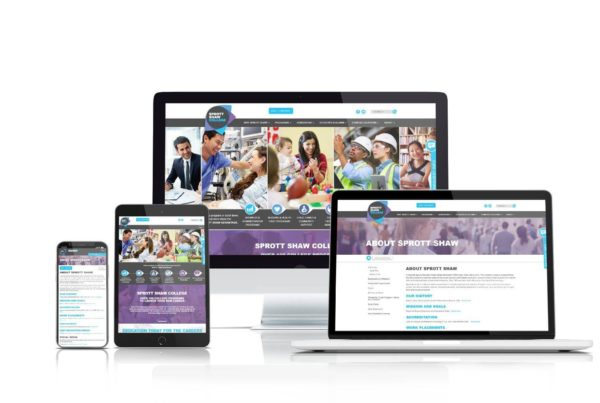 Sprott Shaw College website