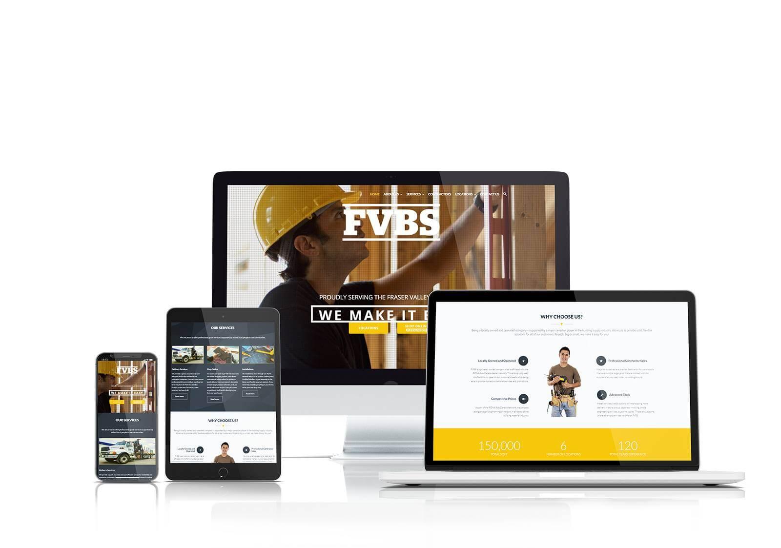 FVBS responsive website design