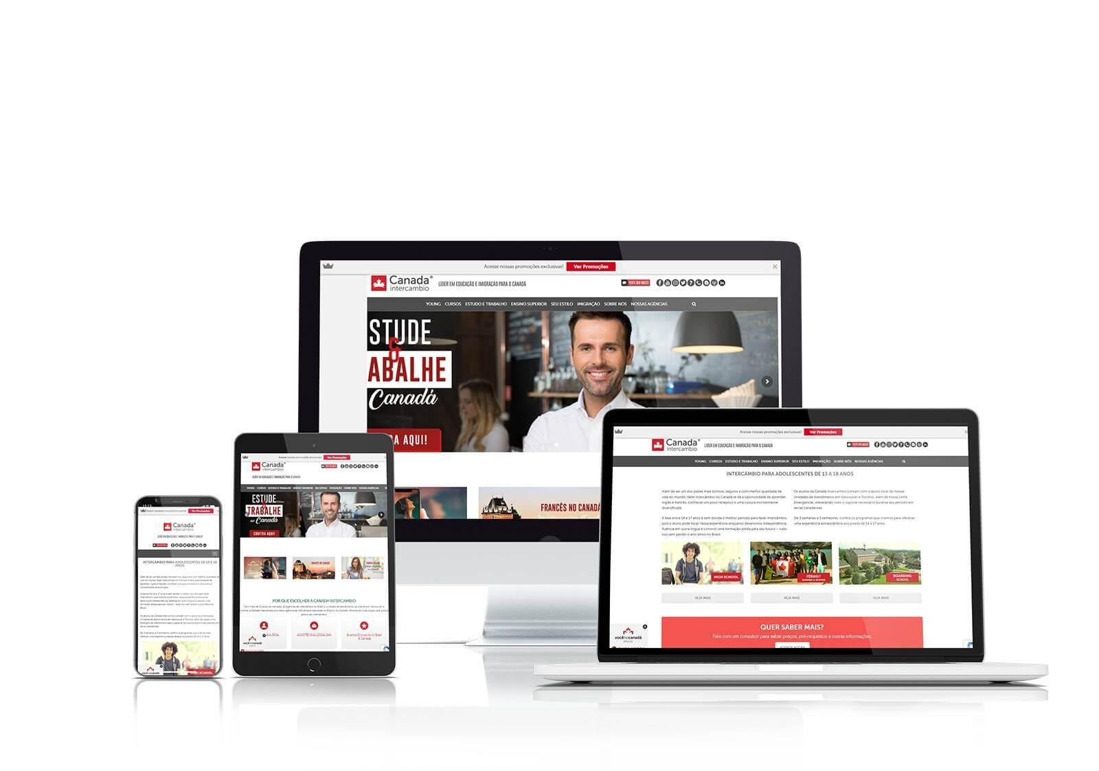 Canada Intercambio website