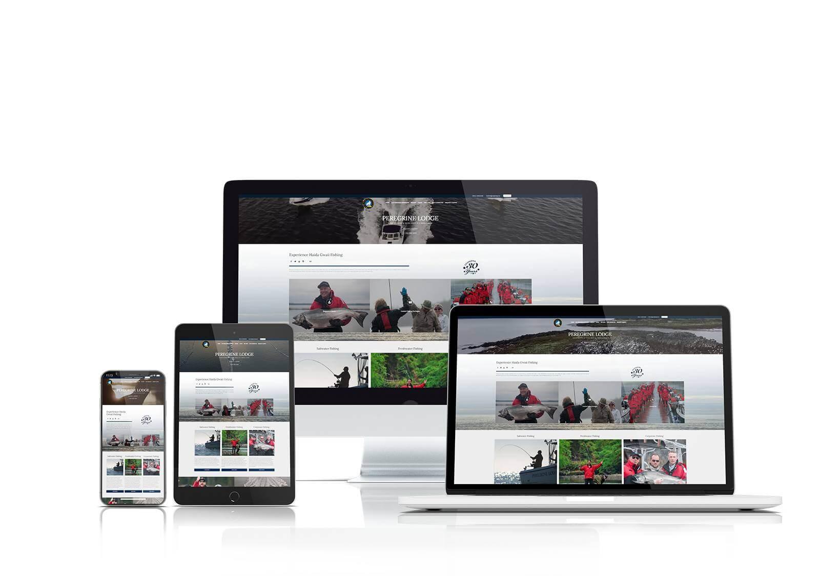 Peregrine Lodge website