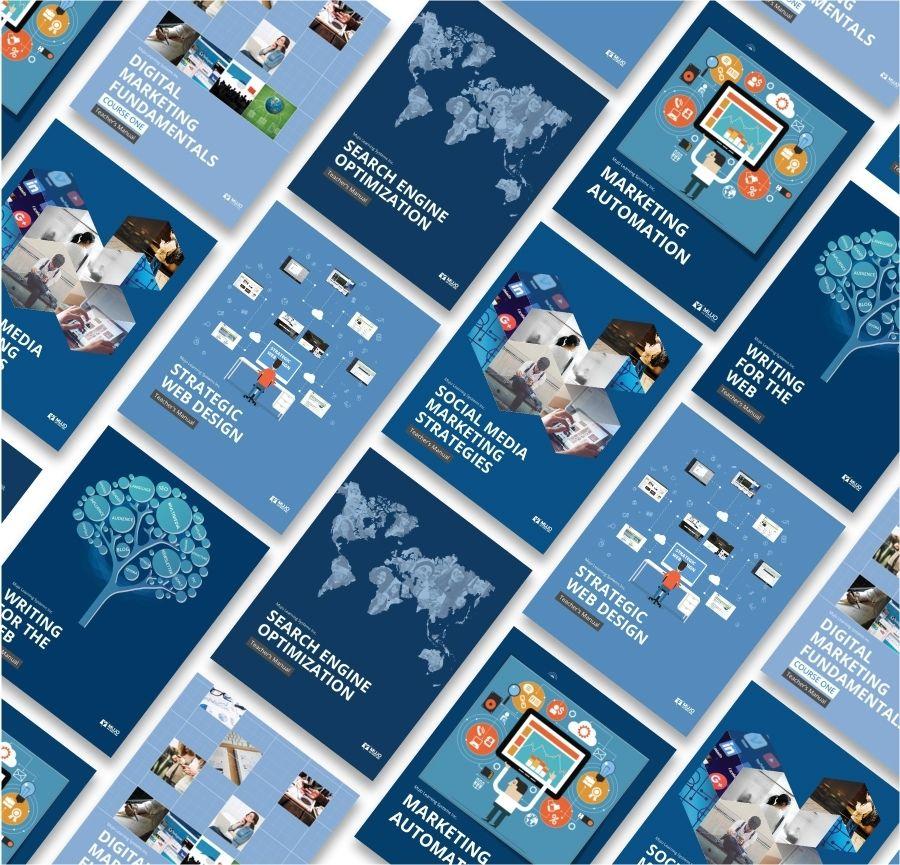 SEO and marketing textbooks