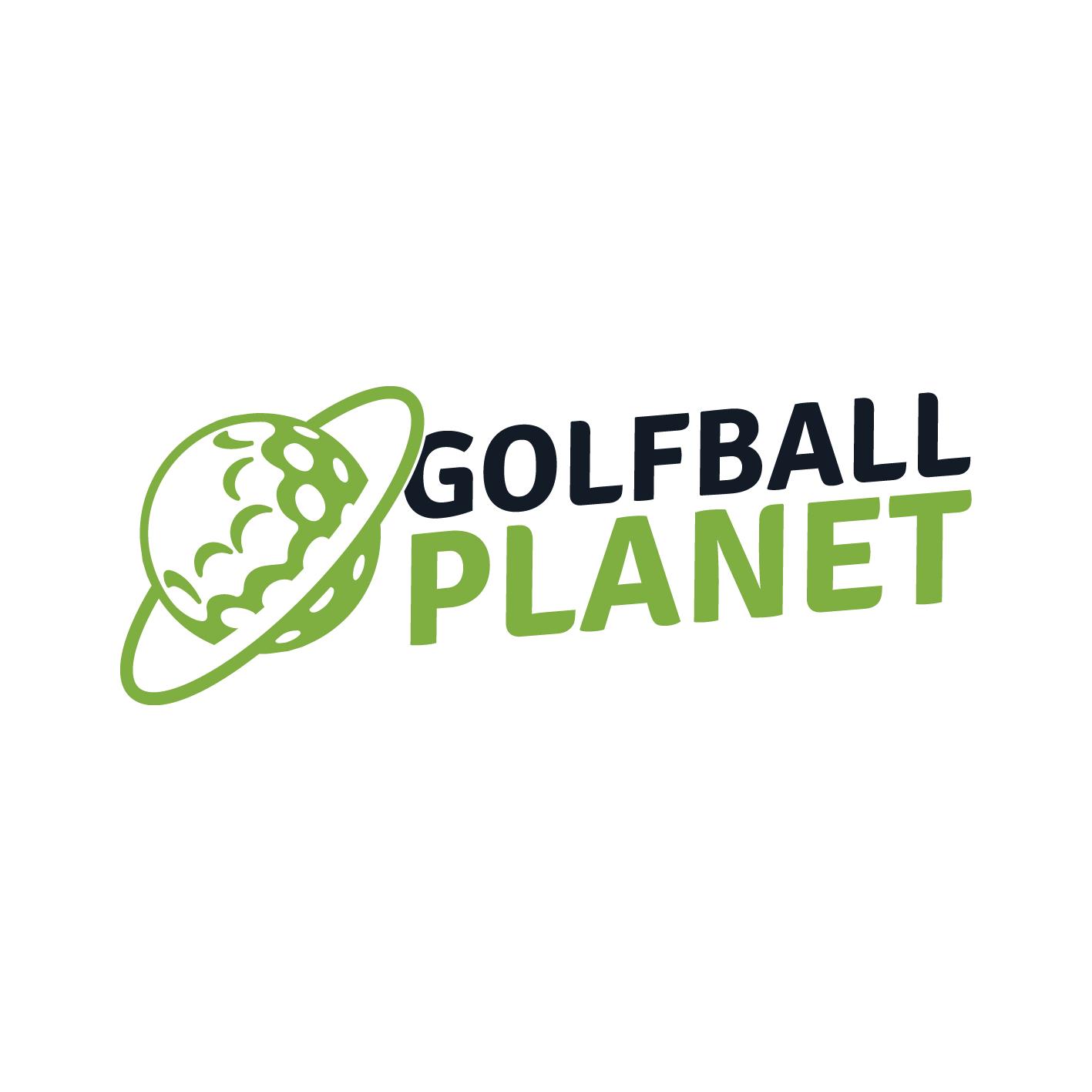 old golf ball planet logo