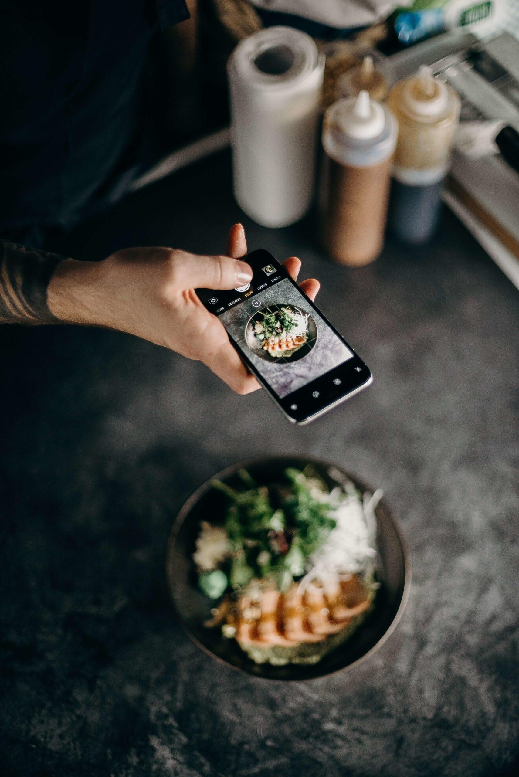 Food photography Instagram